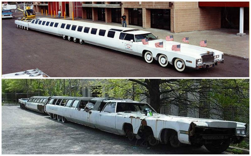 FormaCar: World's longest limo found abandoned and vandalized